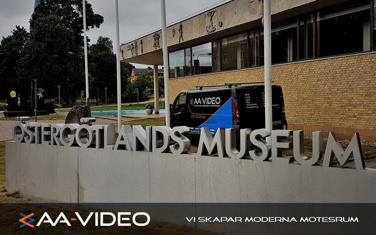 AA-Video levererar och installerar - Östergötlands Museum