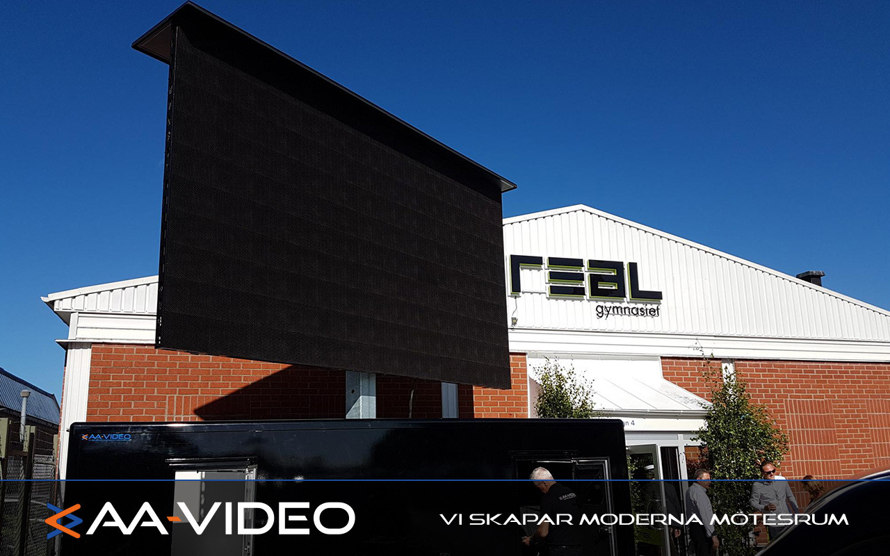 AA-Video hjälpte Realgymnasiet i Linköping