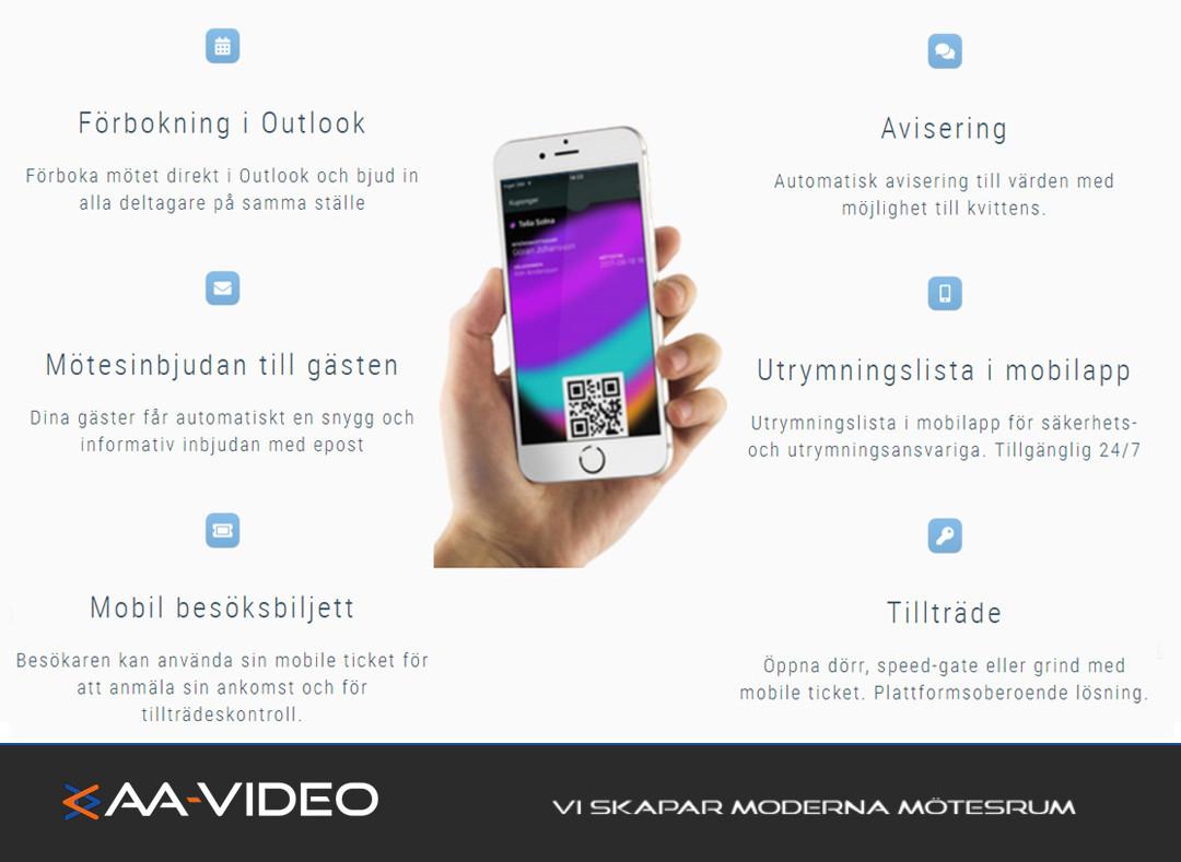 Köp ditt besökssystem hos oss - AA-video