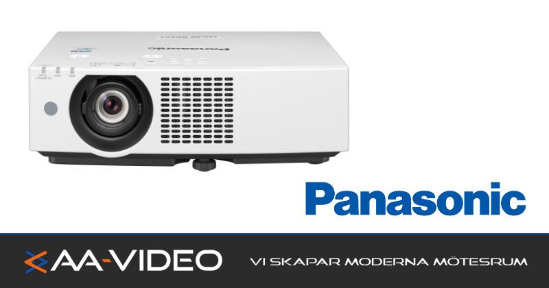 Panasonic lanserar en ny produktserie med laserteknik – AA-Video levererar