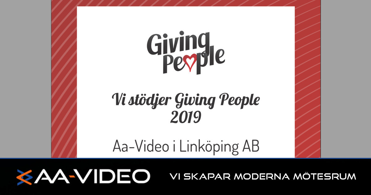 Gör som AA-Video | Stöd Giving People