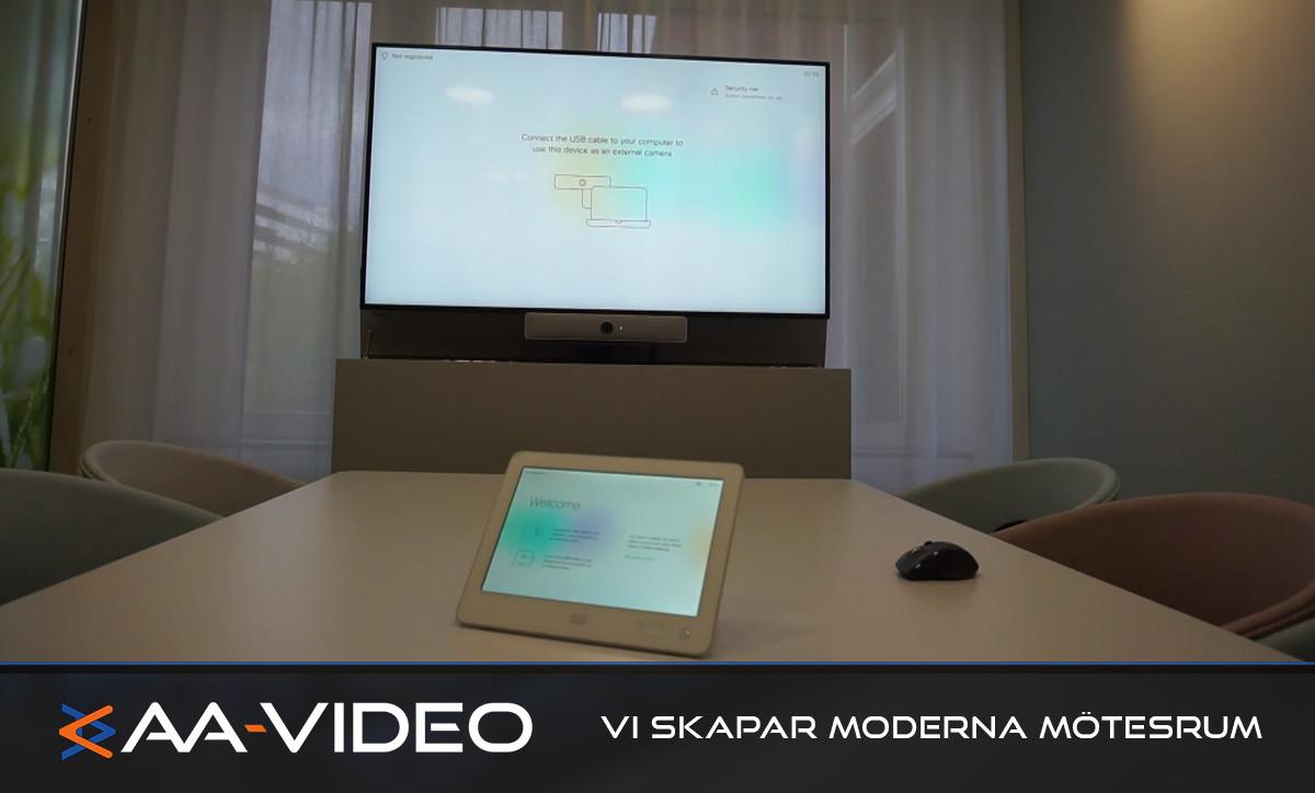 AA-VIDEO levererar specialmöbel till ett företag inom läkemedelsbranschen.