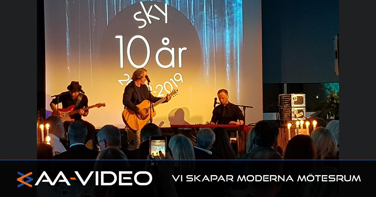 Sky i Linköping jubilerar – AA-Video var där.