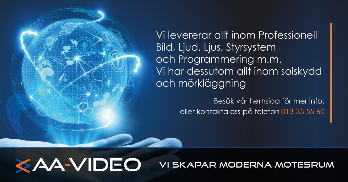 AA-Video expanderar!