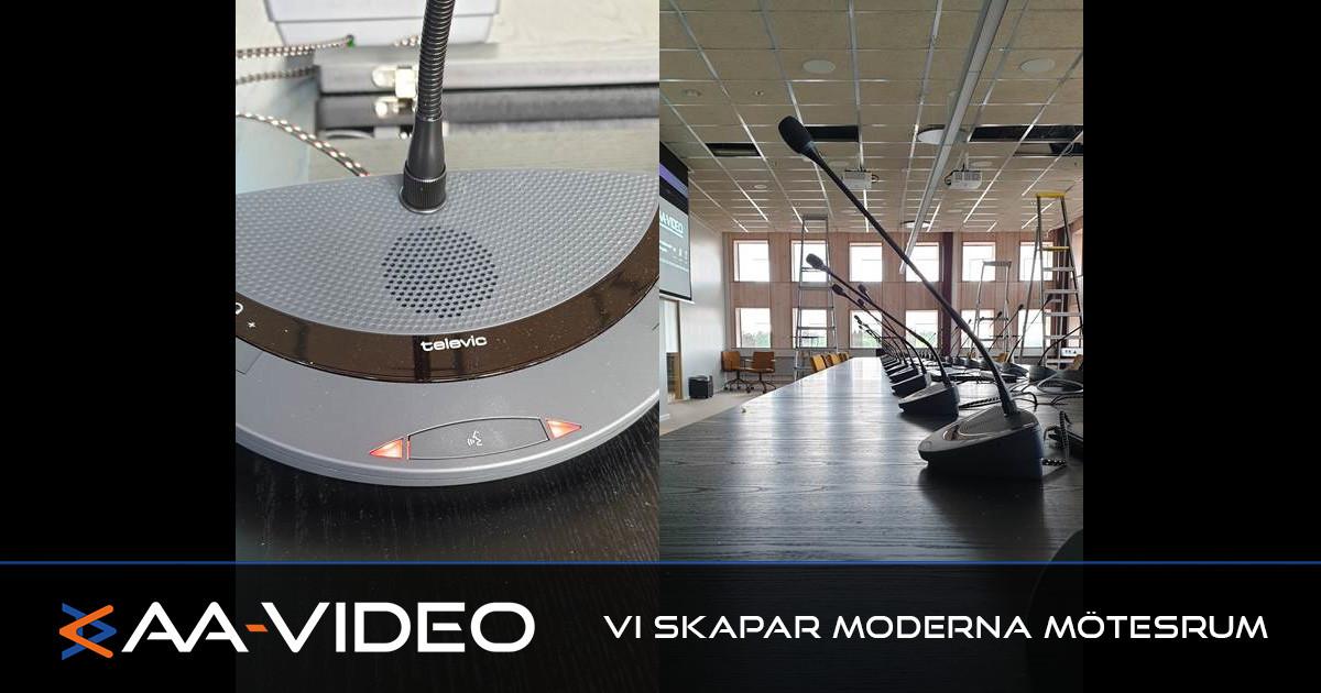 AA-Video med kunskap – Installation av smarta mikrofonsystem
