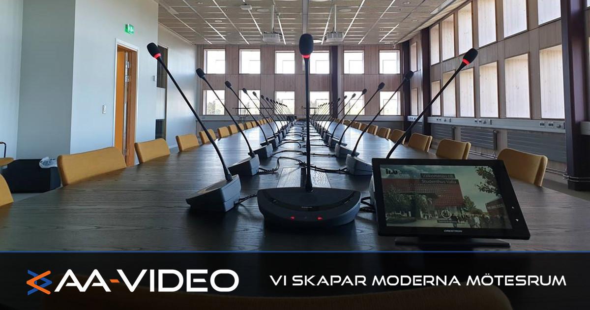 Modernt styrelserum – AA-Video vet vad ni behöver