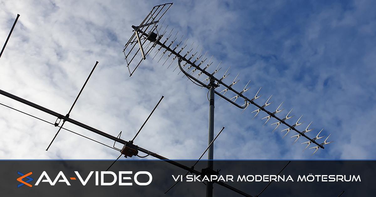 Antennservice på Tallholmsvägens serviceboende